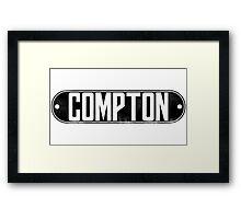 Dr. Dre Compton Tee Framed Print