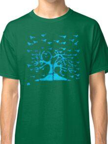 Glowing Bacterial Art - Bird Tree Classic T-Shirt