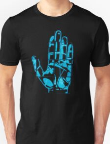 Glowing Bacterial Art - Hand Unisex T-Shirt