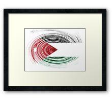 Jordan Twirl Framed Print