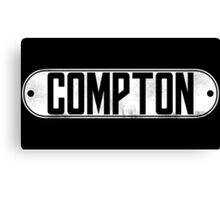 Dr. Dre Compton Tee (White) Canvas Print