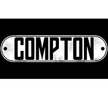 Dr. Dre Compton Tee (White) Photographic Print
