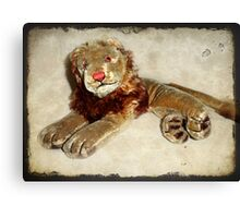 Vintage Steiff Lion Canvas Print