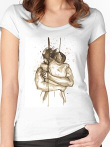 Sweet Embrace Women's Fitted Scoop T-Shirt