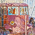 Rusty Car by Bob Vaughan