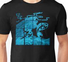 Glowing Bacterial Art - Ocean Unisex T-Shirt