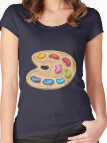 art palette Women's Fitted Scoop T-Shirt
