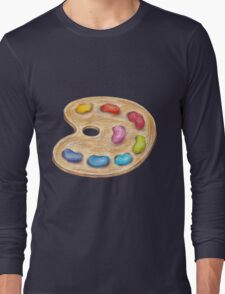 art palette Long Sleeve T-Shirt