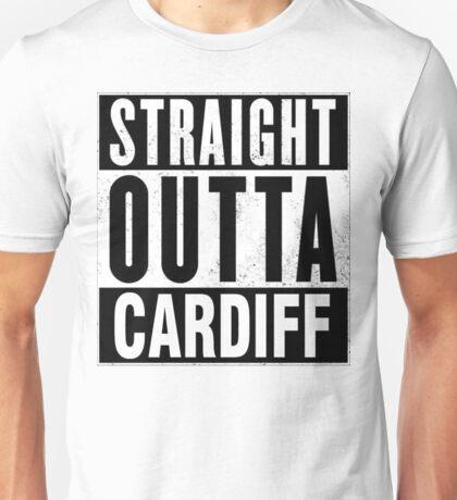 STRAIGHT OUTTA CARDIFF Unisex T-Shirt