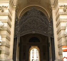 Archway at The Hofburg by Lee d'Entremont