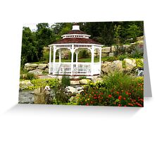 Tranquil Garden Greeting Card