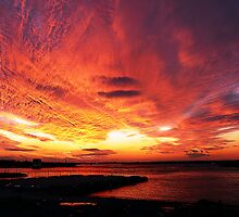 CLOUDS ON FIRE by KENDALL EUTEMEY