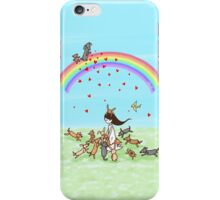 Animals Love iPhone Case/Skin