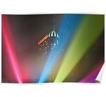 Rainbow Colours Poster