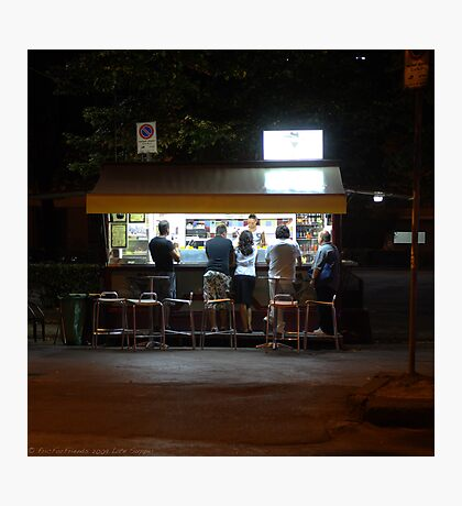 Late Supper - Florence Photographic Print