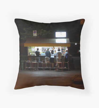 Late Supper - Florence Throw Pillow