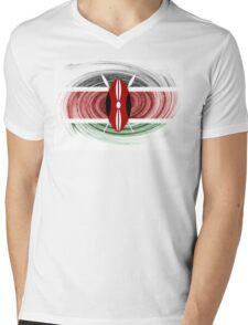 Kenya Twirl Mens V-Neck T-Shirt