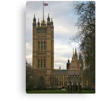 Parliament Square Canvas Print