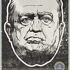 FBI J Edgar Hoover Propaganda Print by LibertyManiacs