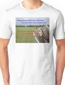 verse 1 of Quips & Ellipses Unisex T-Shirt
