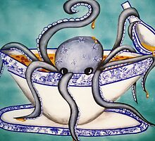 Octopus Soup by nazman