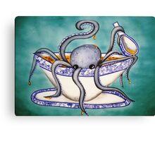 Octopus Soup Canvas Print