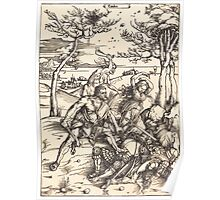 Albrecht Dürer or Durer Hercules Conquering Cacus Poster