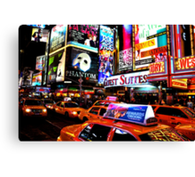 Times Square in New York City Canvas Print