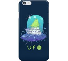 Volcano playing organo! iPhone Case/Skin