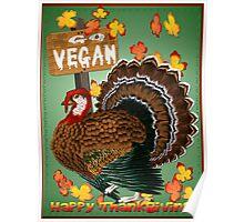 Go Vegan! Thanksgiving Poster