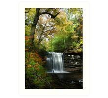 Rickett's Glen ~ Harrison Wright Waterfall Art Print