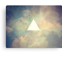 triangle loving  Canvas Print