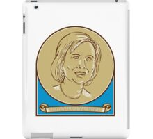 Hillary Clinton 2016 Democrat Candidate iPad Case/Skin