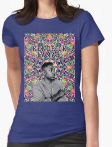 kendrick lamar #8 Womens Fitted T-Shirt