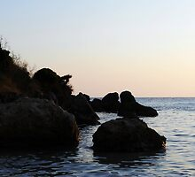 Rocks on the sea. by Scama