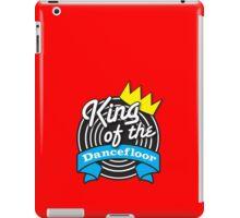 King of the DANCEFLOOR with record billboard iPad Case/Skin