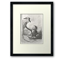 A Cry Was Heard Framed Print