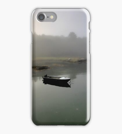 Boat - Morning Fog iPhone Case/Skin