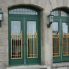 Doors of the Fairmont le Chateau Frontenac by Laurel Talabere
