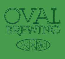Oval Green Text by redbenn