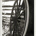 The Old Wheel by Jeri Garner