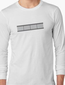Photographer photography film strip Long Sleeve T-Shirt