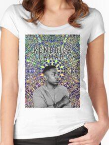 kendrick lamar #9 Women's Fitted Scoop T-Shirt