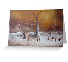 The Shire First Snowfall Greeting Card
