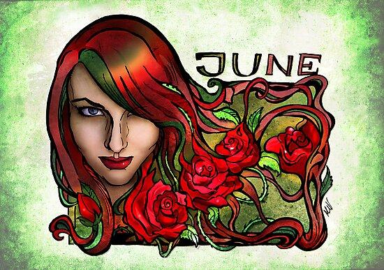 Magdalena of June by AlexKujawa