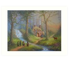 The House Of Tom Bombadil Art Print