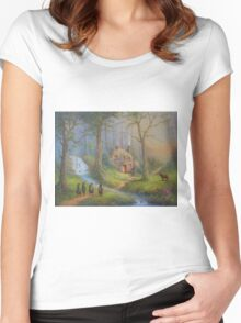 The House Of Tom Bombadil Women's Fitted Scoop T-Shirt