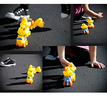 Rubber Duckie you're my very best friend, it's true Photographic Print