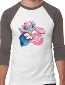 Pokemon Diancie Men's Baseball ¾ T-Shirt