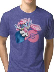 Pokemon Diancie Tri-blend T-Shirt
